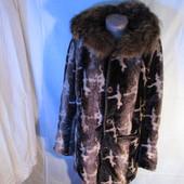 Продам кожаное двухстороннее пальто