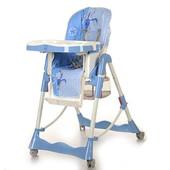 Бемби 002 стульчик для кормления детский высокий Bambi