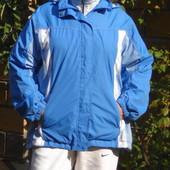 Голубая куртка на тоненькой баечке. Размер: 40 / 12 / L