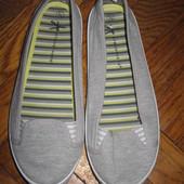 Балетки (туфли, туфлі) Atmosphere 38 р. стелька 24 см. текстиль