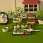 Огород Happy Family грядки овощи грабли вазоны ростения ящики уличный кран