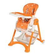 Бемби 2430 стульчик для кормления высокий Bambi столик и стульчик