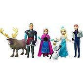 набор Frozen мини-куколок Эльза, Анна, кристофф, ганс, свэн и олаф