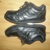 кожаные туфли ботинки  Lee Cooper, стелька 28  см