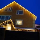 Новогоднее оформление фасадов,праздничная иллюминация,светодиодные гирлянды