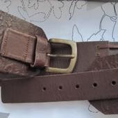 Ремень широкий кожаный пояс тиснение Next (М)