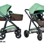 Карело Фортуна коляска универсальная 2 в 1 carrello Fortuna CRL-9001 трансформер