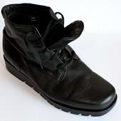 Ботинки Ecco, Португалия, оригинал, кожа 41 р демисезон