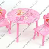 Столик и стульчики Девочка