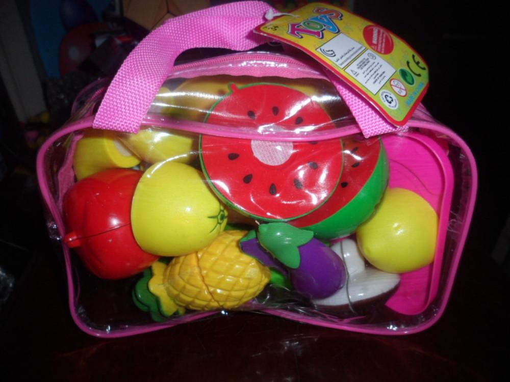 Набор овощей и фруктов на липучке фото №1
