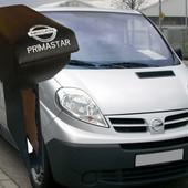 Підлокітник на мікроавтобус Ніссан Прімастер.