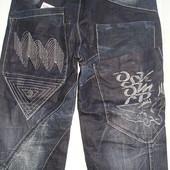 Мужские джинсы молодежные осень плотные пояс 80-100см бедра 92-114см