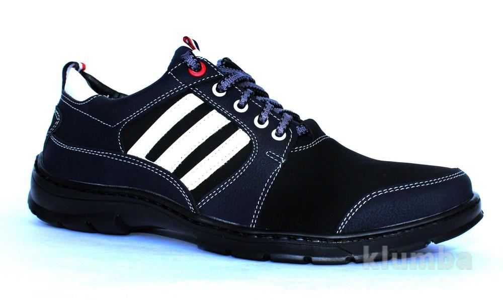 41 р отличные мужские кроссовки на шнуровку ю31 фото №1