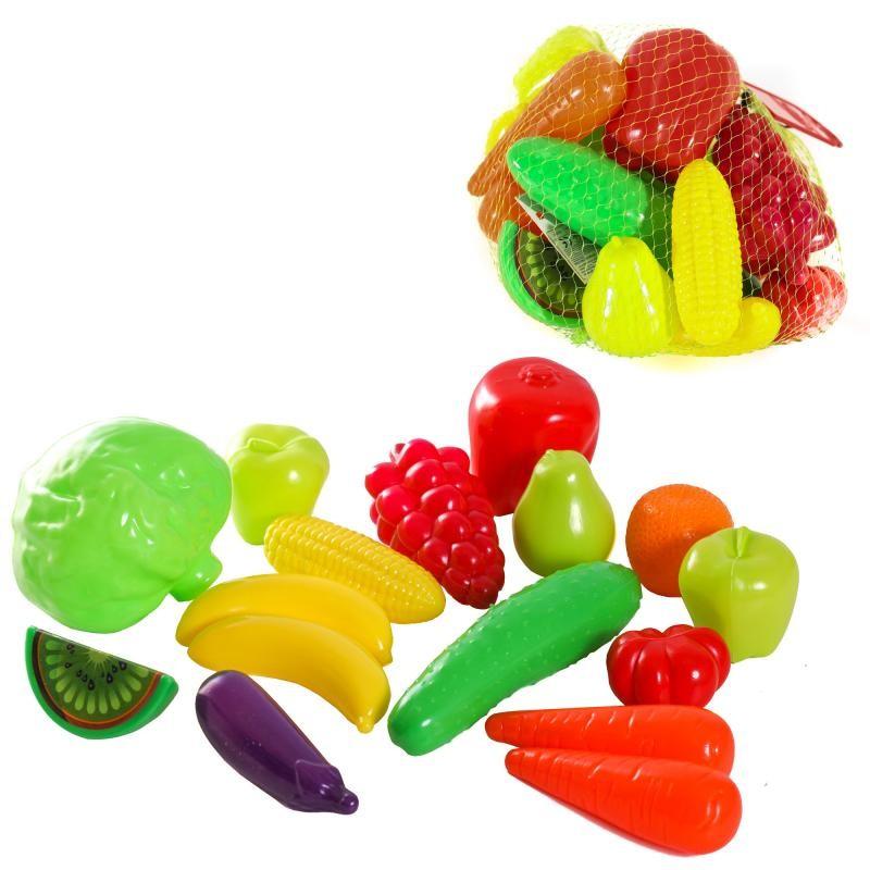 Набор фрукты-овощи 16, 24 предметов орион фото №1