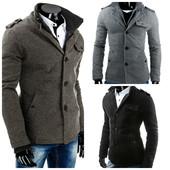 мужское демисезонное пальто молодежное