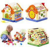 """Развивающая музыкальная игрушка """"Теремок"""" Limo Toy 9196"""