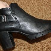 кожаные ботиночки,женские .Размер 38