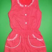 Комбинезон для девочек, 92-122 размеры