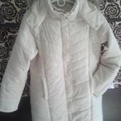 Куртка пуховик зимний женский р.52 54