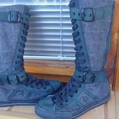 Дуже круті чоботи-кеди  Converse 37.5р.(24.5см)