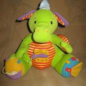 Tolo шуршащий дракон Толо развивающая игрушка
