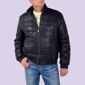 Модная куртка мужская демисезонная Тимофей,т.синяя