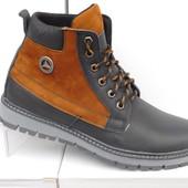 Ботинки кожаные зимние Velkoni Deer Hunter