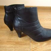 esmara  р.38 чобітки ботинки шкіра