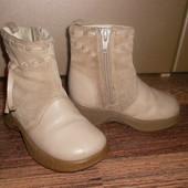 Ботиночки *Кожа+Замш* Стелька=12,2 см.