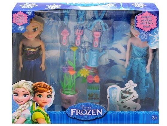 Куклы фрозен frozen с мультфильма ледяное сердце bx002c-2 фото №1