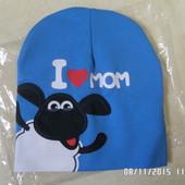 нова трикотажна шапка 48-50см