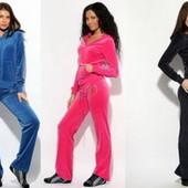 Велюровый  костюм Juicy Couture (Джуси Кутюр).Много цветов