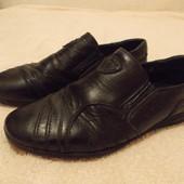 Туфли натур. кожа, стелька 22см
