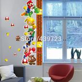 "Наклейка-ростометр ""Марио"""