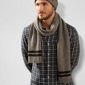 вязаный шарф 180 X 25