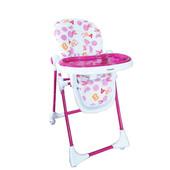 Стульчик для кормления BabyHit Juicy - Purple, розовый