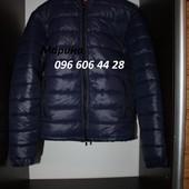 пуховики мужские,черный и синий размер м.л.хл