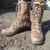 Ботинки зимние, молодёжные, 39 размер. Черевики зимові.