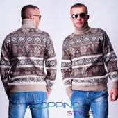 Акция!3расцветки шерстяных свитеров