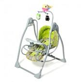 Качели плюс шезлонг 2 в 1 Тилли bt-sc-003 детская музыкальная колыбель кресло качалка шезлонг