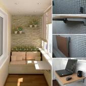 Маленький столик для ноутбука Стол на балкон или лоджию
