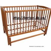 Кроватка детская Labona Немовля №3 на шарнирах
