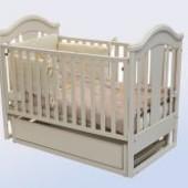 Кроватка детская ТМ Лелека Яна(прод.качание)