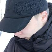 Кепка вязаная на флисе  шапка на флисе размер 52-62см