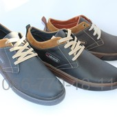 Мужские кожаные туфли, 3 цвета, комфорт