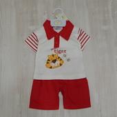 Новый комплект для мальчика Bumble Bear Collection, размер 6-12 месяцев. Футболочка в подарок