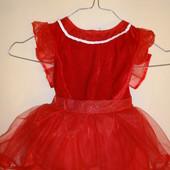 продам красивое платье девочке Фея с крылышками 12-18мес.