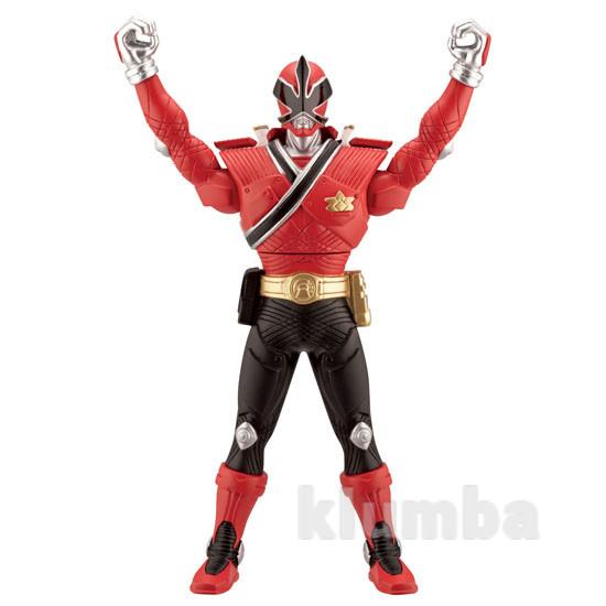 Фигурка красный рейнджер - превращение серии рейнджеры - самураи 31721 bandai фото №1