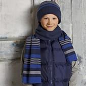 Комплект шапка и шарф Tchibo на 3-6 лет