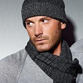 Мужской шарф красивый теплый шерсть TCM Tchibo